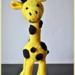 Hnědožlutá žirafa pro Toníka