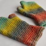 Dámské bezprstové rukavice