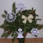 Vánoční ozdoby s popisem od Laydi