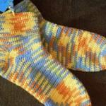 Ponožky metodou ve čtyřech krocích