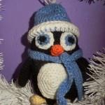 Tučňáček s kulíškem a šálkou