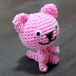 Růžová kočička podle Veroniky
