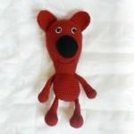 Medvídek Kuky z příze Nicky