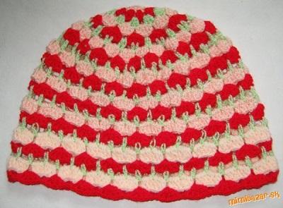 farebná čiapka