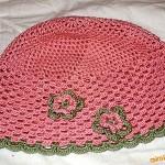 Letní čepička-klobouček