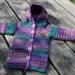 Kabátek pro holky z příze Fiona