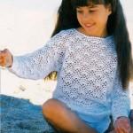 Dívčí tričko z jemné bavlny