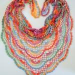 Duhový šátek Alize Diva
