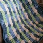 Dětská deka z provlékaných pásků