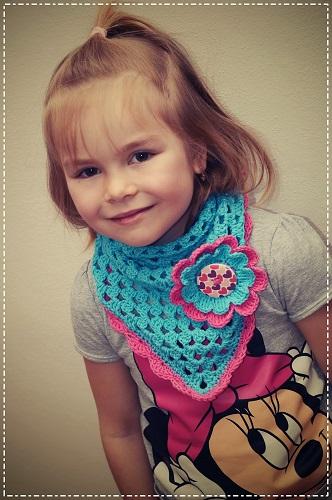 šátek-květ