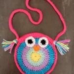 Dětská kabelka – sova