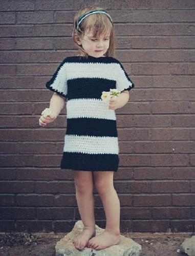 striped-tshirt-dress