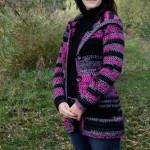Hřejivý svetr pro mamku