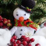 Vánoční sněhuláček