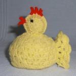 Háčkované kuře z Glorie