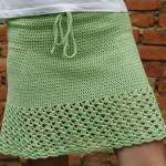 Jednoduchá krátká sukně