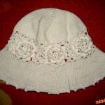 Letní klobouček podle Romany
