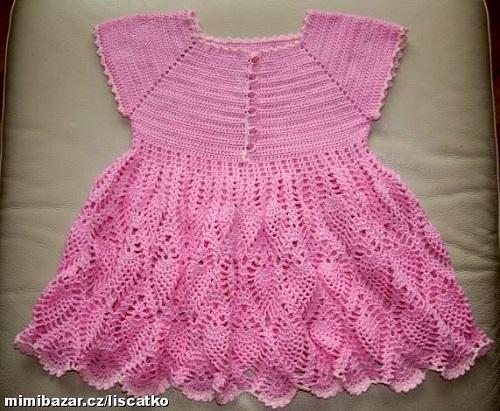 ružové šatičky
