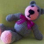 Medvídek Teddy šedý