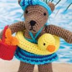 Plážový medvídek Rita