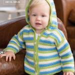 Snadný dětský svetřík s kapucí