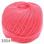 3354 - jahodově růžová