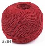 3384 - tmavě červená