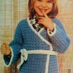 Dětské domácí kimono
