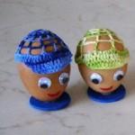 Kšiltovka pro velikonoční vajíčko