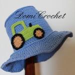 Zahradnický klobouček pro kluky i holky