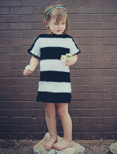 striped-tshirt-dress