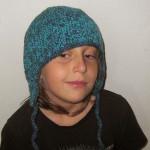 Háčkovaná ušanka Trapper Hat