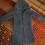 Dětský kabátek s kapucí