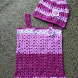 3a088e23b537 Háčkované šatičky šaty tunika tunička