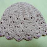 Vejáriková jarná čiapka