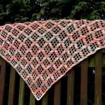 Šátek z příze Mercan Batik