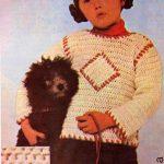 Dívčí pulovr Daniela