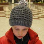 Sportovní kostičková čepice