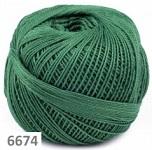 6674 - tmavě zelená