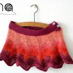 Háčkovaná sukňa – crochet skirt