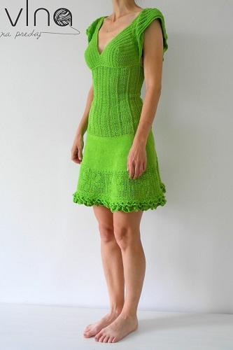 9f0163836d05 Bavlněné háčkované šaty. Postup práce háčkovaných šatů pro střední dámskou  velikost. Doporučená příze  Safran (zn. Drops) a háček č. 2