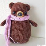 Netypický roztomilý medvídek