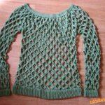 Vzdušný pulovr Jak na to