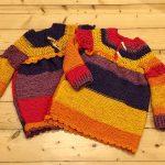 Háčkovaně pletená tunika pro frajerky