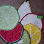 Ovocné podložky pod hrnečky
