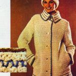 Dívčí háčkovaný kabátek