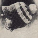 Dvoubarevná čapka s kšiltem