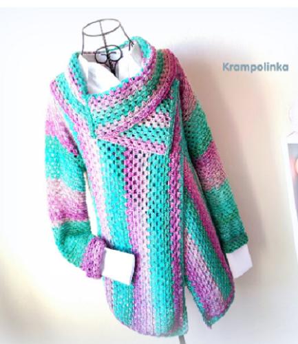 Zavinovací svetr